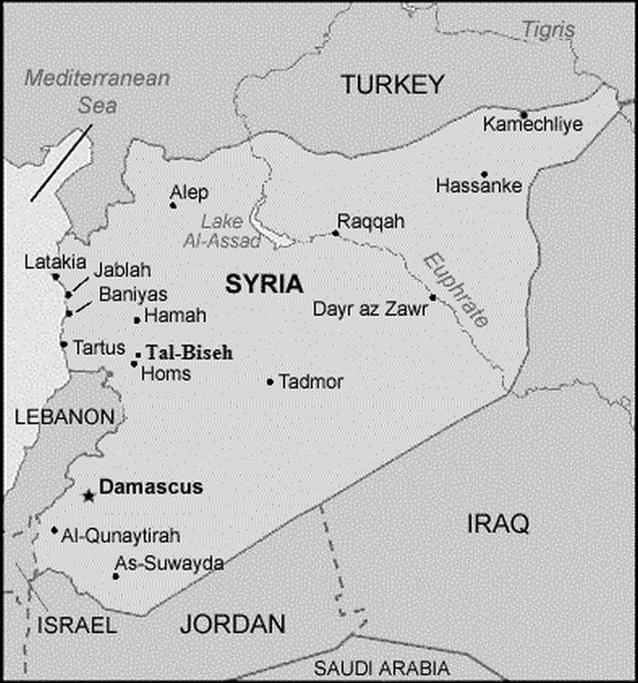 Syria - Tal-Biseh - Juillet 2014