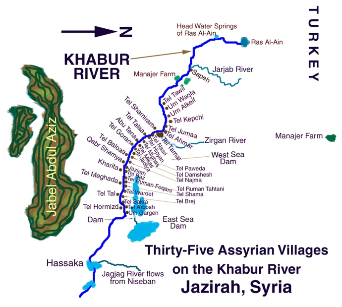 Khabur Valley - Djebel Abdoul Aziz