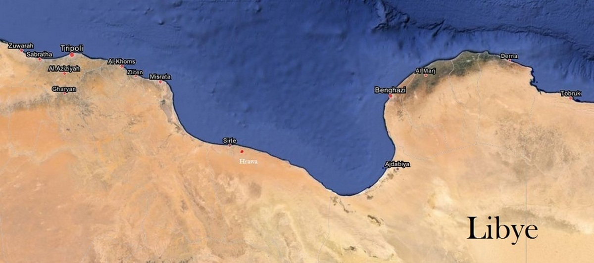 LIBYE - Juin 2015 - Raja GHARSA JLASSI'