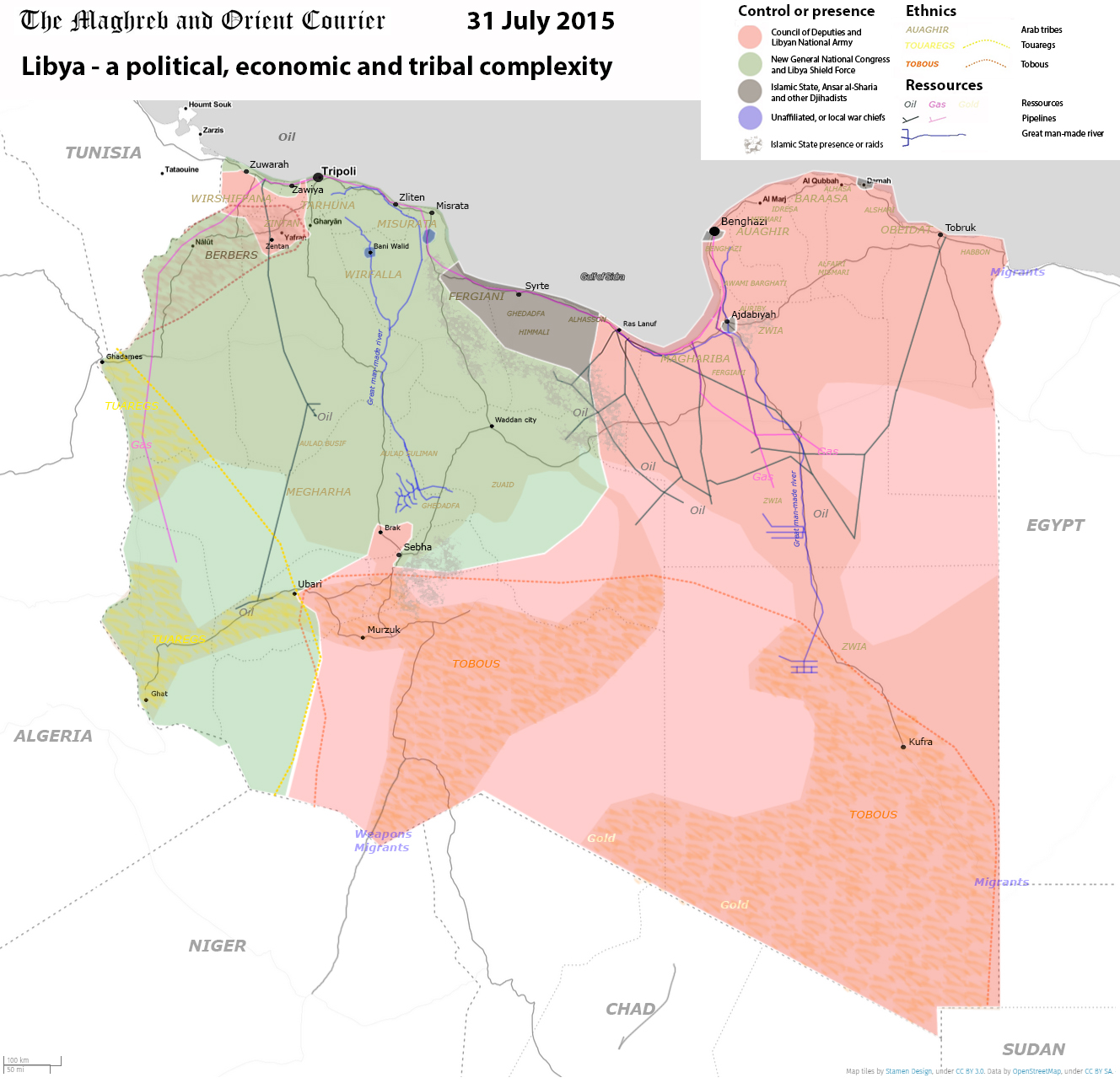ARAB WORLD MAPS - July-August 2015 - Emmanuel PÈNE