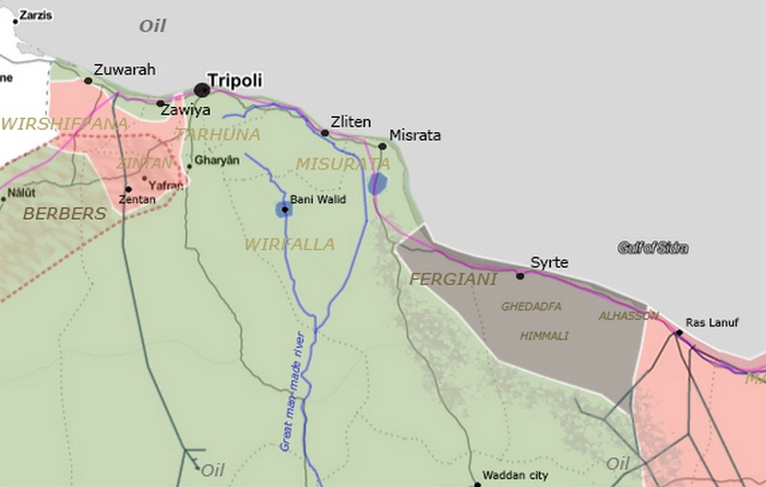 Libya – political, economic and tribal complexity   The Maghreb and ...