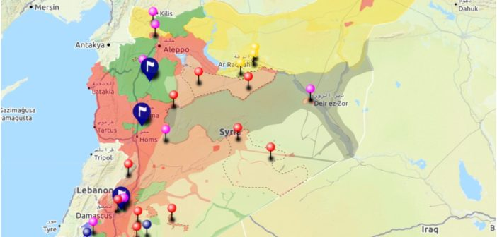 Urgent syria interactive conflict map 4th of august 2017 urgent syria interactive conflict map 4th of august 2017 gumiabroncs Image collections